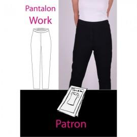Patron Femme Pantalon work