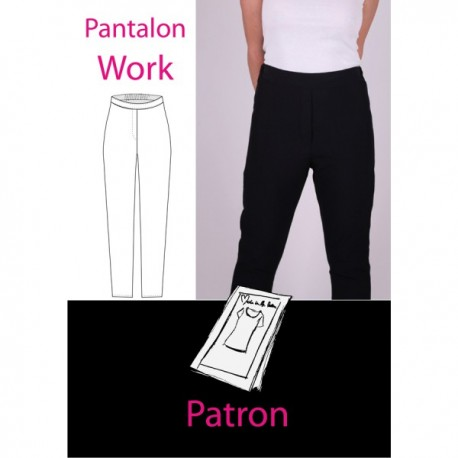 Patron Pantalon work