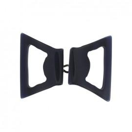 Fantasy hook clasp - navy blue