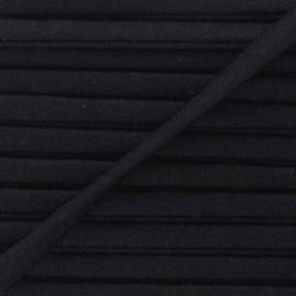 Cordon Maillot de Bain Uni - Noir x 1m