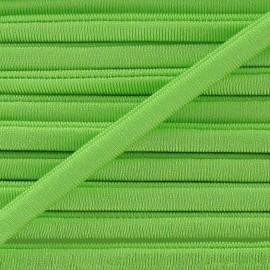 Spaghetti Elastic Cord 5mm, plain - light green