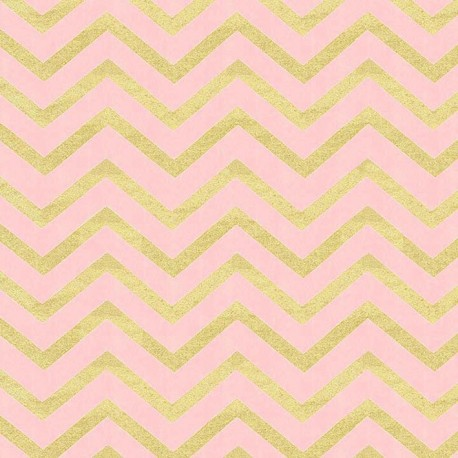 Fabric Glitz chevron blush x 10cm