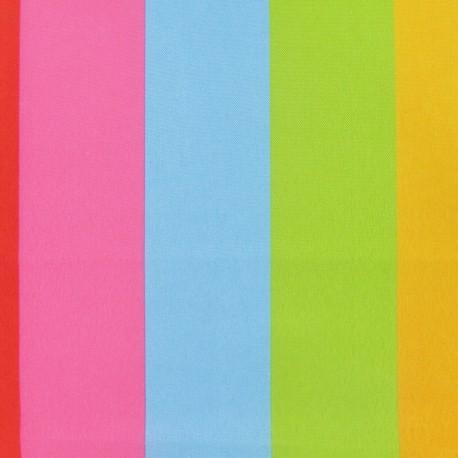 Polyester Digital Impression Canvas Fabric - Colour burlington multi  x 10cm