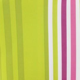 Tissu toile polyester impression digitale Manael fuchsia/anisx 10cm cm