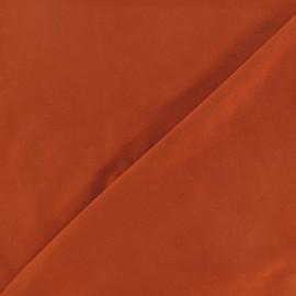 Tissu Suédine élasthanne brique x 10cm