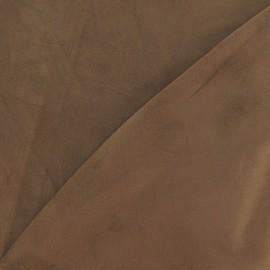 Elastane Suede Fabric - Bronze x 10cm