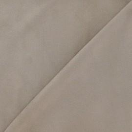 Elastane Suede Fabric - Chestnut x 10cm