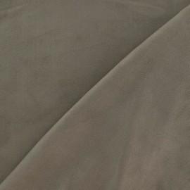 Elastane Suede Fabric - Light Brown x 10cm