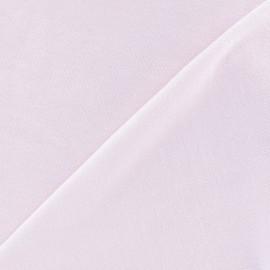 Jersey sponge velvet fabric - pink x 10cm