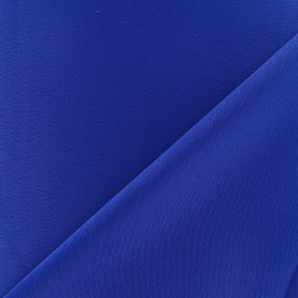 Crepe with satin reverse side Fabric - navy blue x 10cm