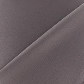 Crepe with satin reverse side Fabric - havana x 10cm