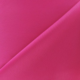Crepe with satin reverse side Fabric - fuchsia x 10cm