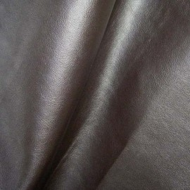 Imitation leather - brown x 10cm