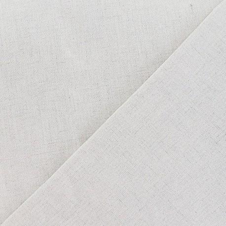 Metis Canvas Fabric plain linen x 10cm