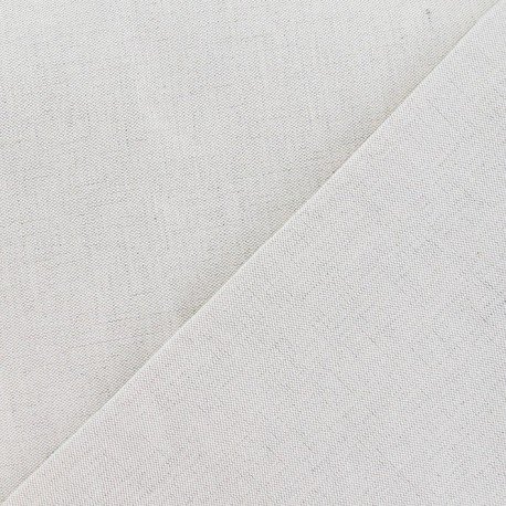 Tissu toile métis uni lin x 10cm