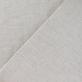 Metis Canvas Fabric plain linen/cotton x 10cm