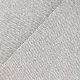 Tissu toile métis uni lin 630gr x 10cm