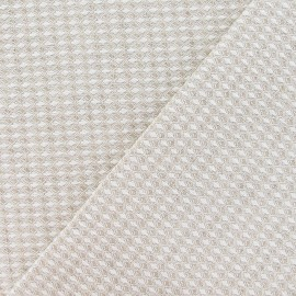 Metis Canvas Fabric nid d'abeille linen x 10cm