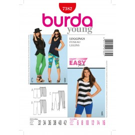 Patron Leggings Burda n°7382