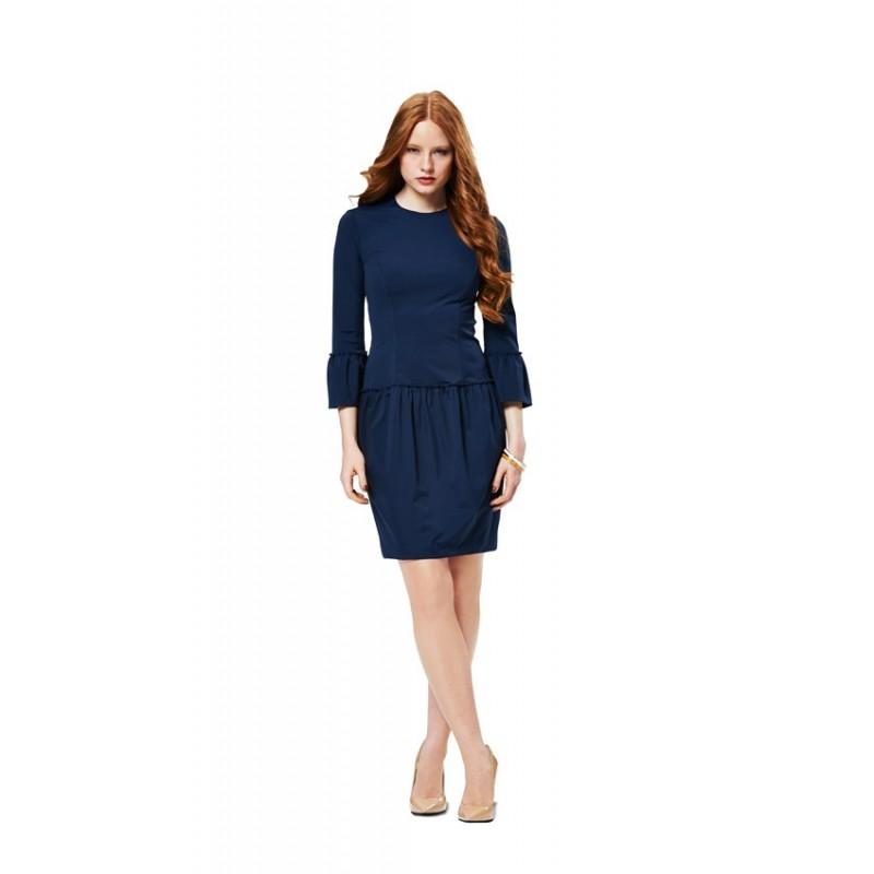 Dress Sewing Pattern Burda N 7014 Ma Petite Mercerie