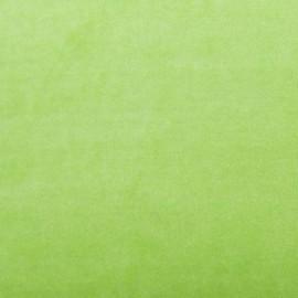 Jersey sponge velvet fabric - lime x 10cm