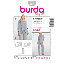 Coordinates Sewing Pattern Burda n°8108