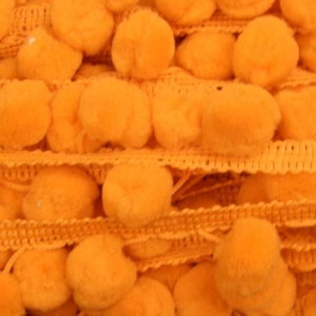 Galon pompon orange