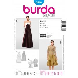 Dress Sewing Pattern Burda n°6996