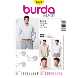 Patron Chemise Burda n°7045