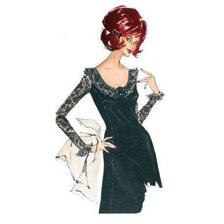 Dress Sewing Pattern Burda n°7044