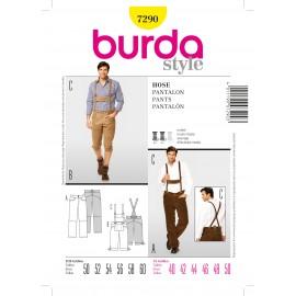 Patron Pantalon Burda n°7290