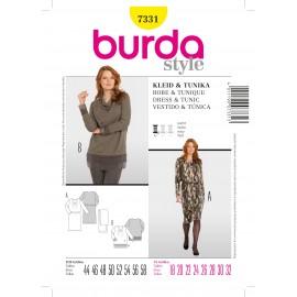 Dress & Tunic Sewing Pattern Burda n°7331