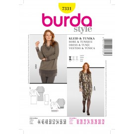 Patron Robe & Tunique Burda n°7331