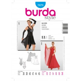 Dress Sewing Pattern Burda n°7870