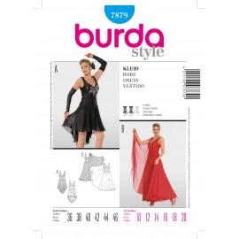 Patron Robe Burda n°7879
