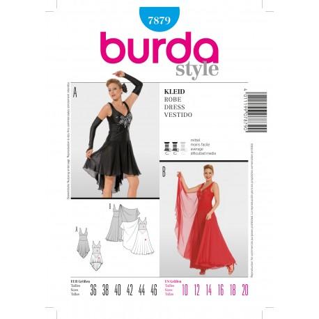 Dress Sewing Pattern Burda n°7870