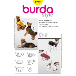 Patron Manteau pour chien Burda n°7752