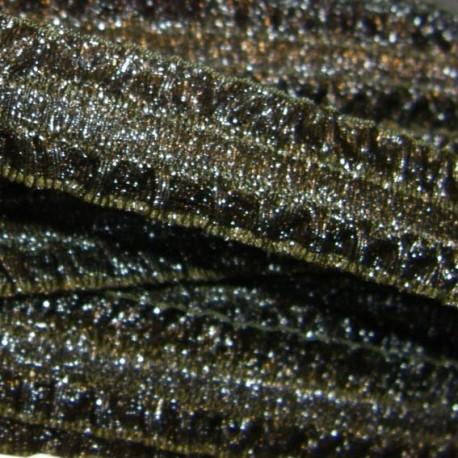 Elastic Ribbon Froufrou - bronze