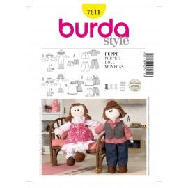 Patron Poupée Burda n°7611