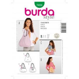 Patron Sacs Burda n°7410