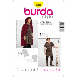 Robin Hood Sewing Pattern Burda n°7333