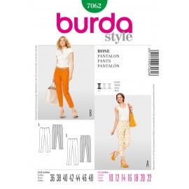 Pants Sewing Pattern Burda n°7062