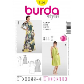 Dress Sewing Pattern Burda n°7106