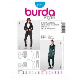 Patron Jupe Burda n°7150