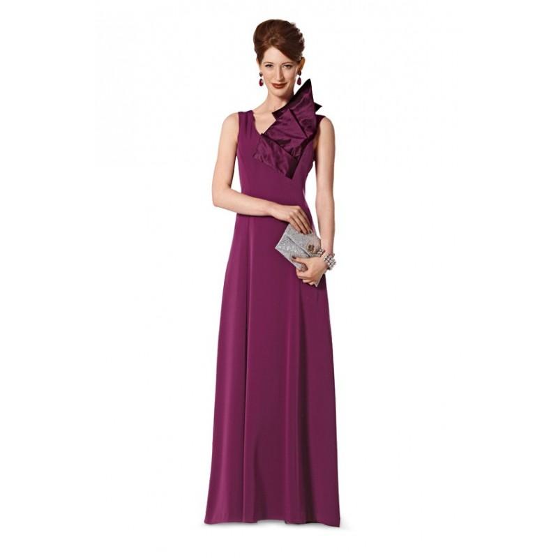 Patron burda patron robe de soir e burda n 7152 patron de couture ma petite mercerie - Patron de robe de soiree ...