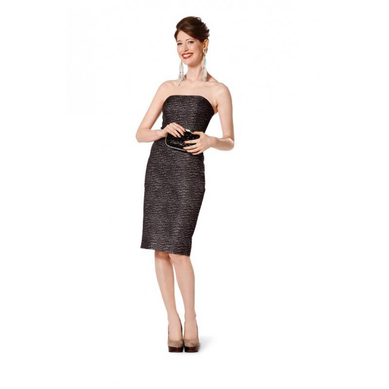 Patron burda patron robe de soir e burda n 7155 patron de couture ma petite mercerie - Patron de robe de soiree ...