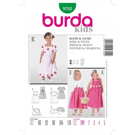 Dress & Jacket Sewing Pattern Burda n°9702