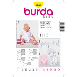 Coordinates Sewing Pattern Burda n°9752