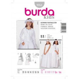 Formal Dress Sewing Pattern Burda n°9761