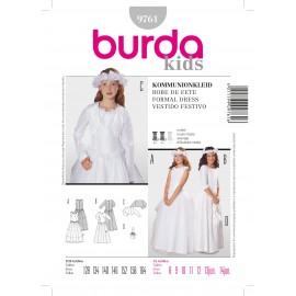 Patron Robe de fête Burda n°9761